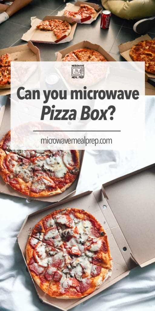 Can you microwave pizza box?