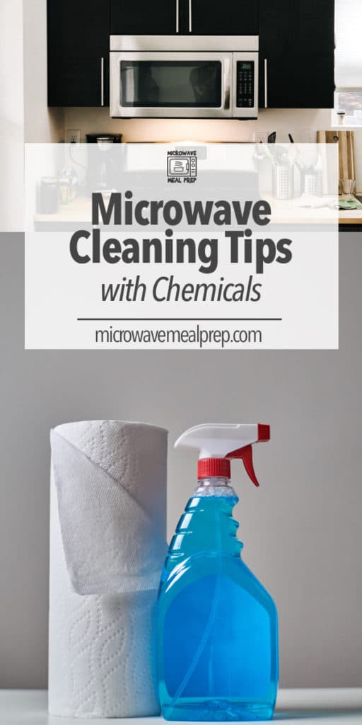 Microwave cleaning tips using chemicals to thoroughly clean the inside and outside resulting in a sparkling clean microwave