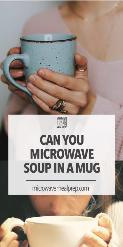 Can you microwave soup in a mug?