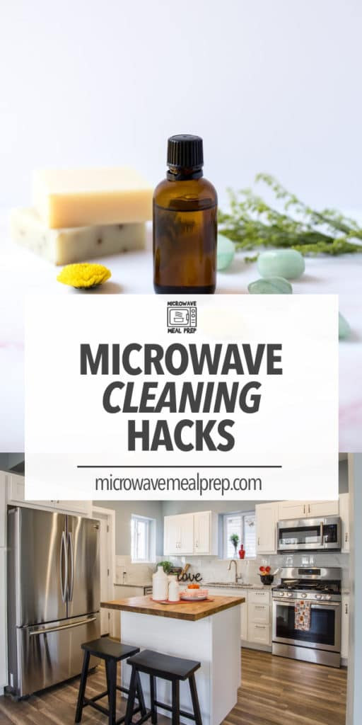 Quick and easy microwave cleaning hacks