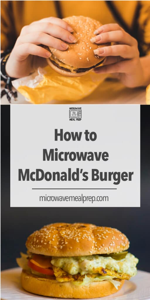 Best way to microwave a McDonald's burger