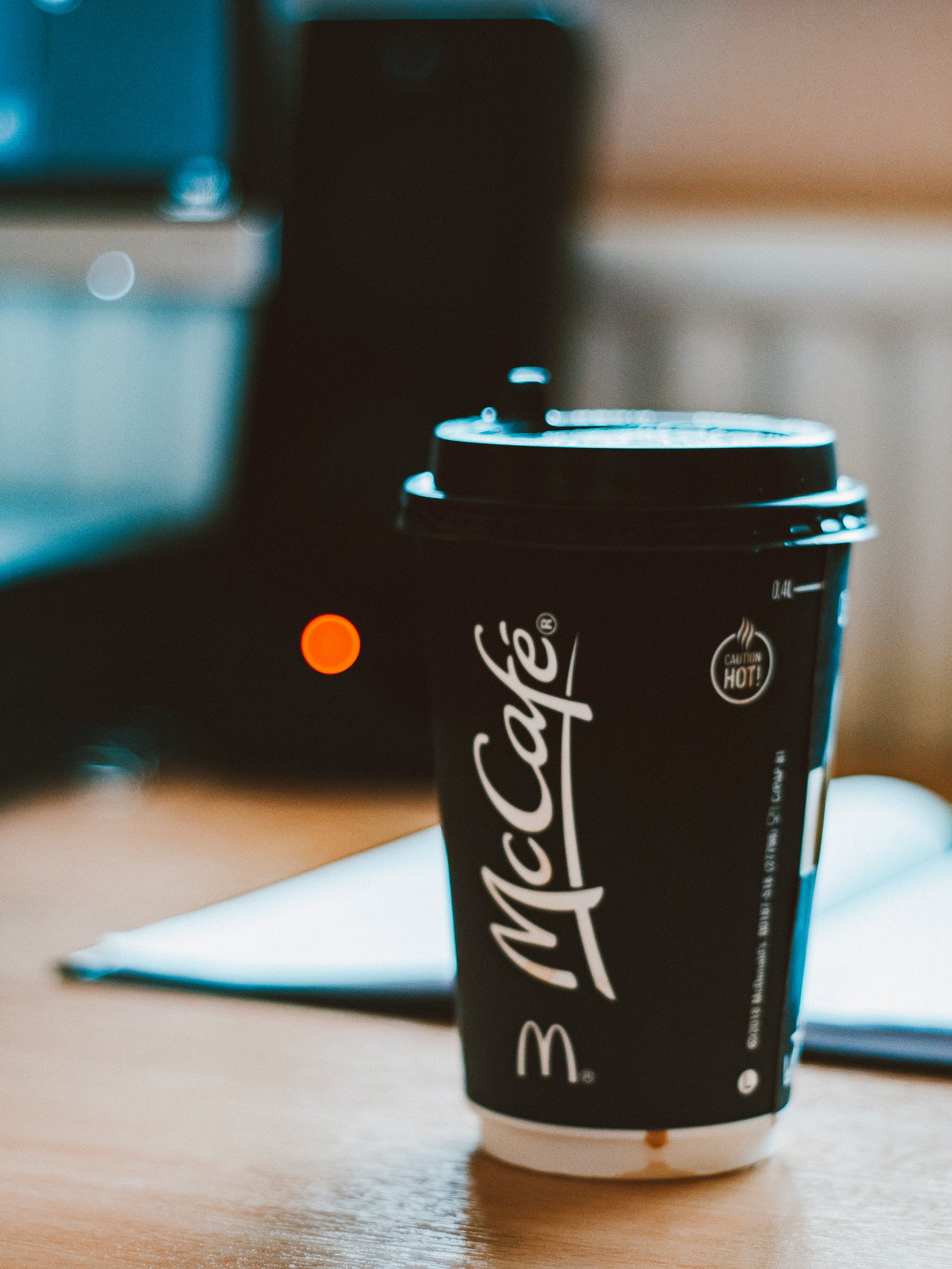 Can you microwave a McDonald's coffee cup?