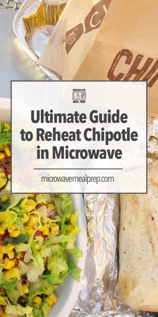 Best way to reheat Chipotle in the microwave.