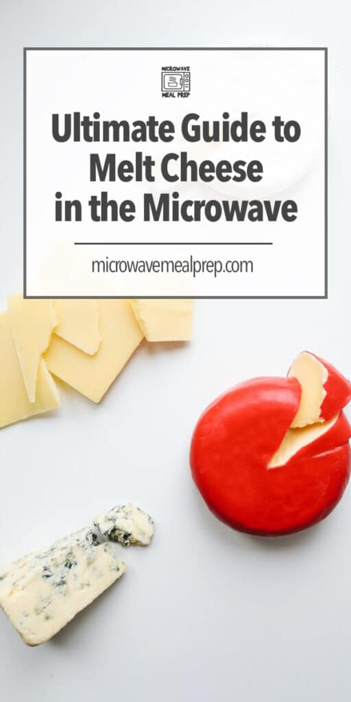 How to melt cheese in the microwave.