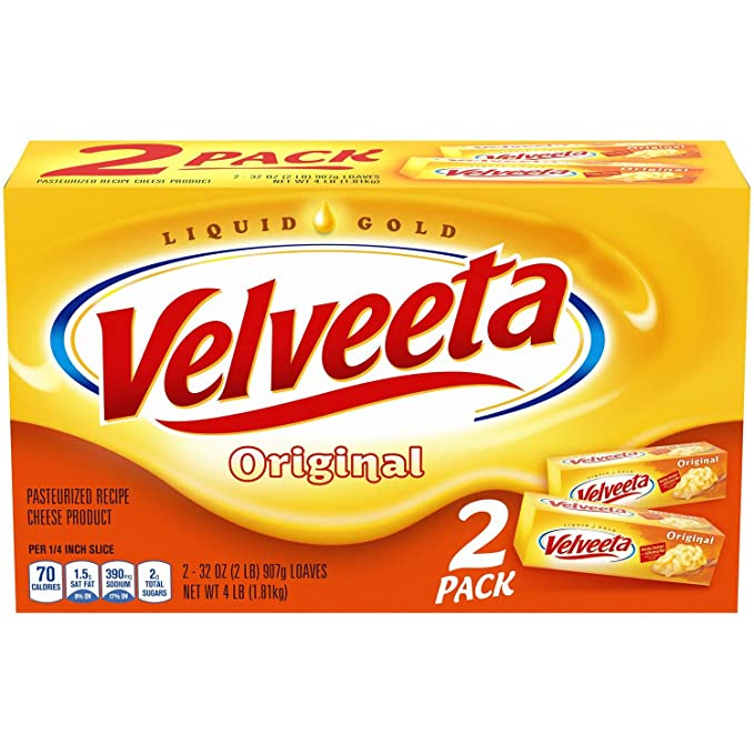 How to melt Velveeta cheese in the microwave.