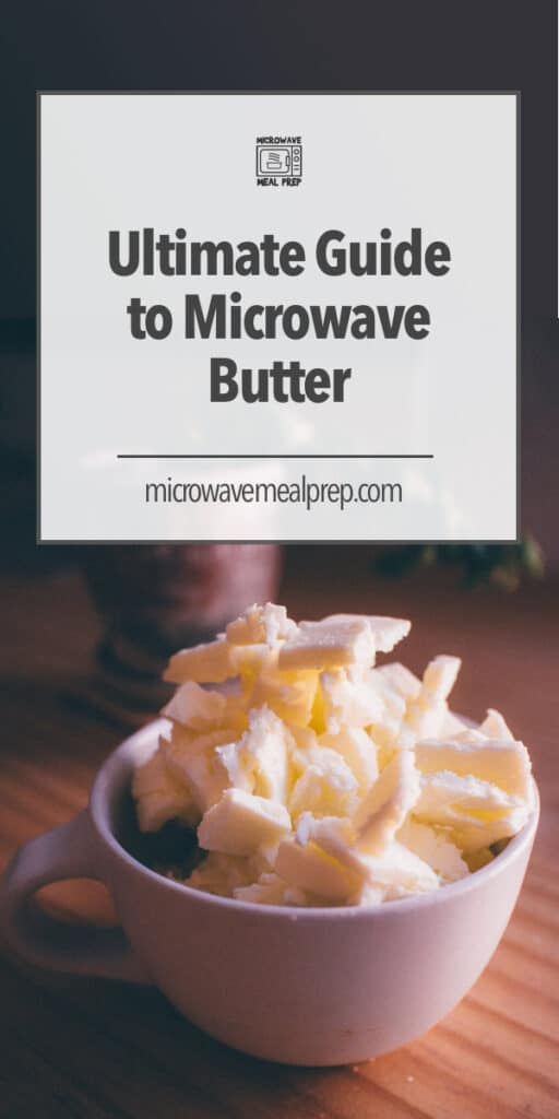 How to microwave butter.