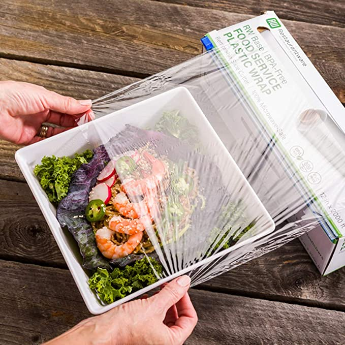 Is it safe to microwave plastic wrap?