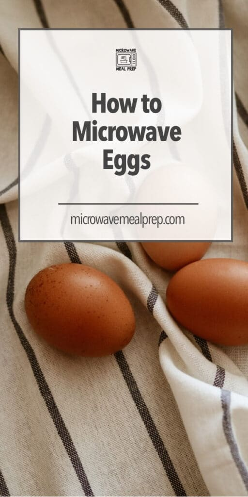 How to microwave eggs