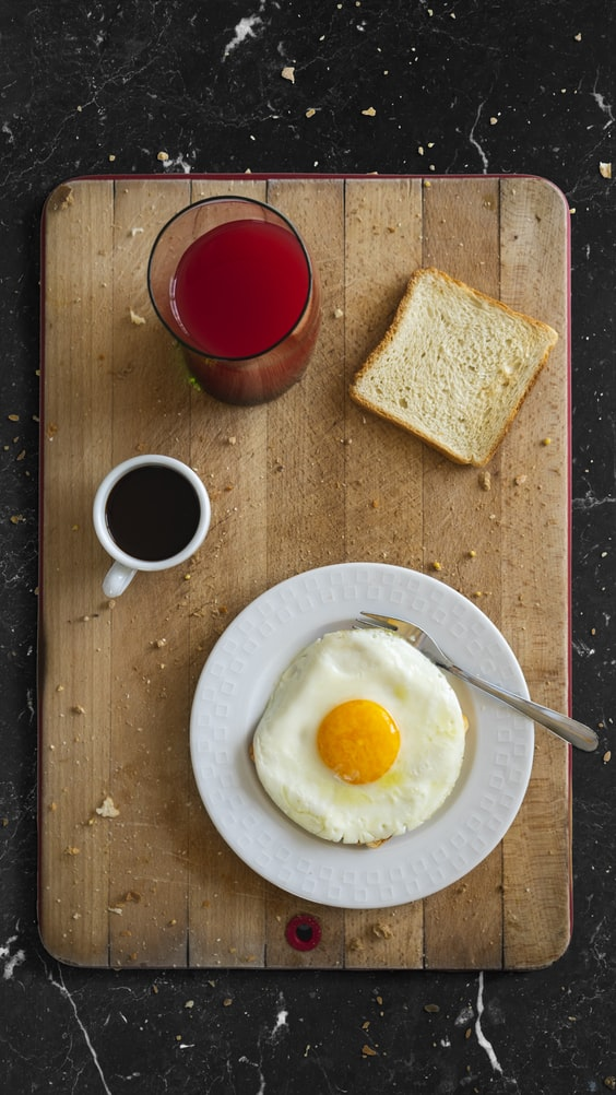 microwave runny eggs