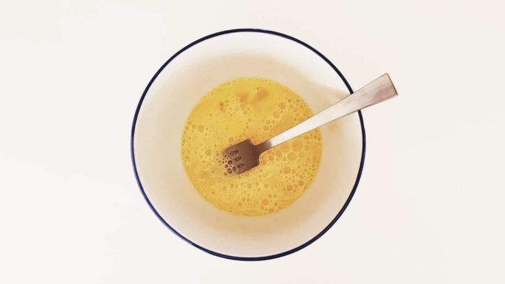 microwave scrambled eggs with butter