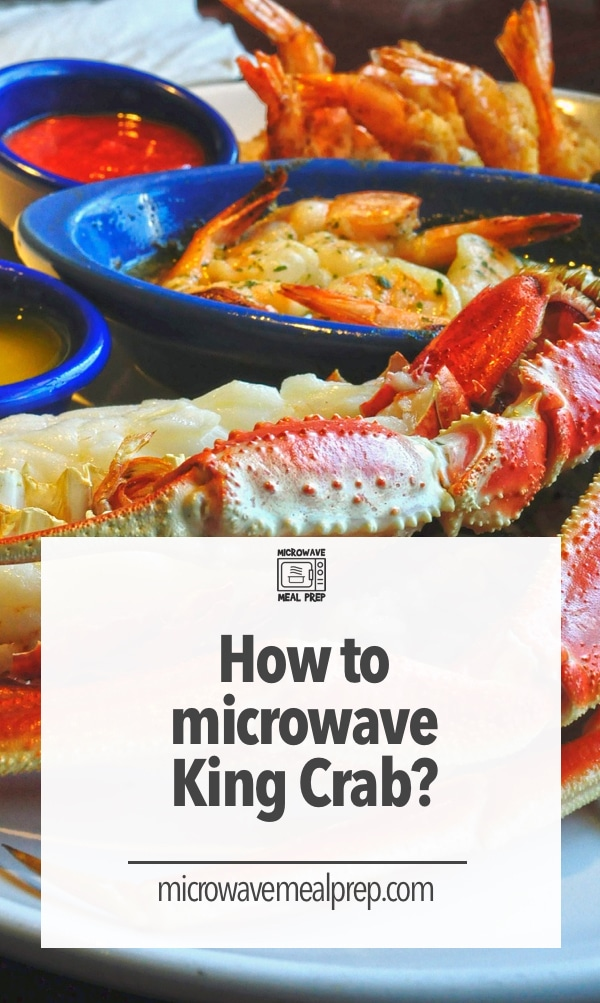 How to microwave king crab legs