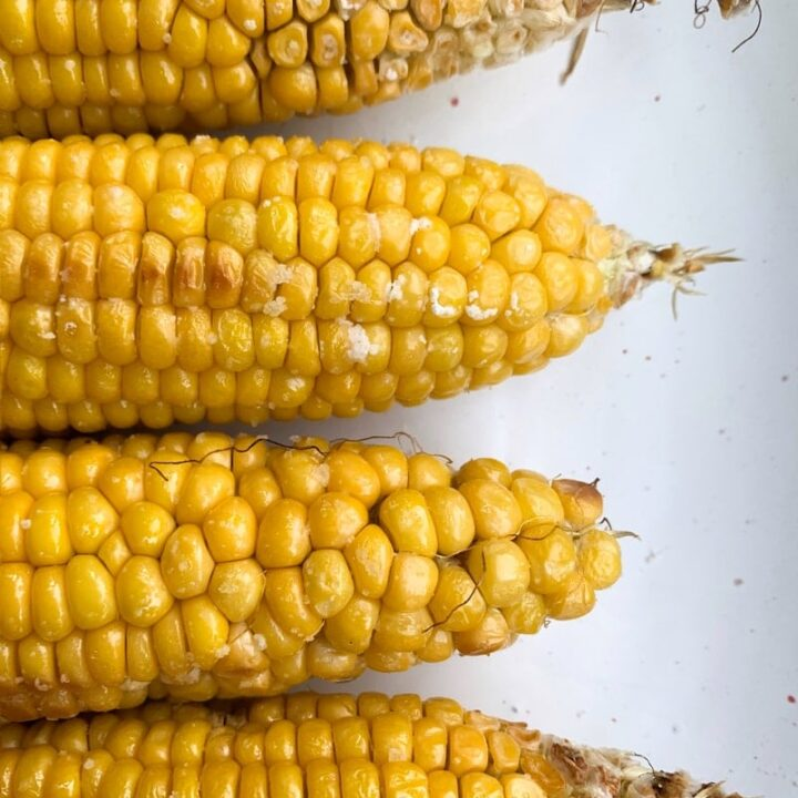 How to Microwave Corn on the Cob Without Husks