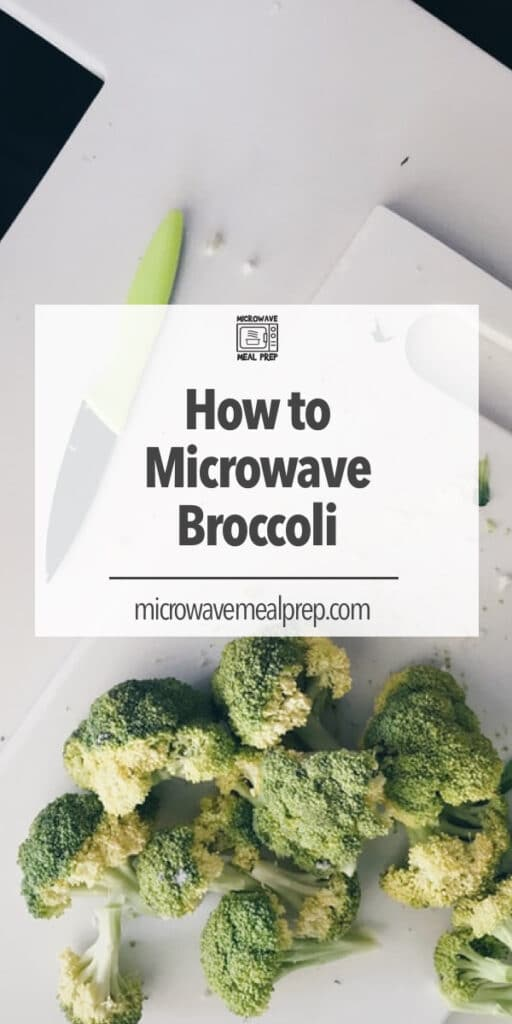 How to microwave broccoli