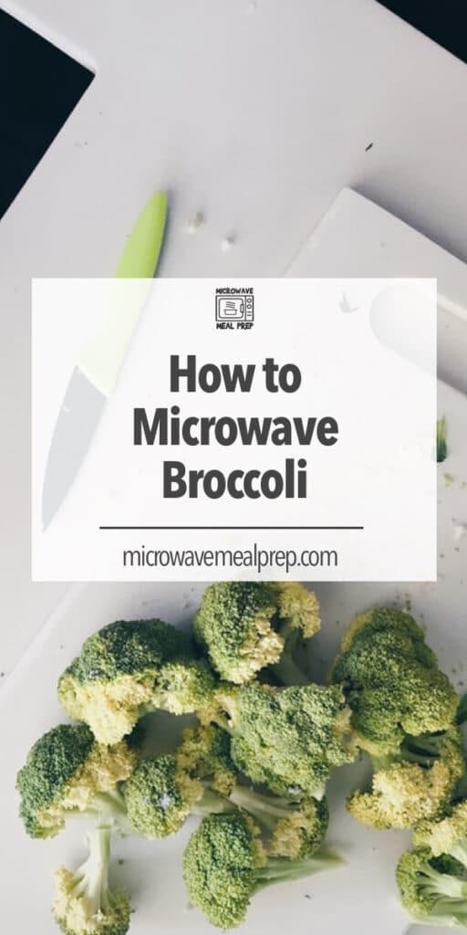 How to microwave broccoli