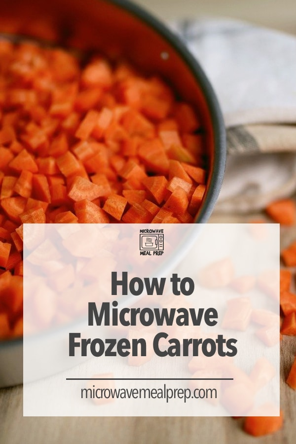 How to microwave frozen carrots
