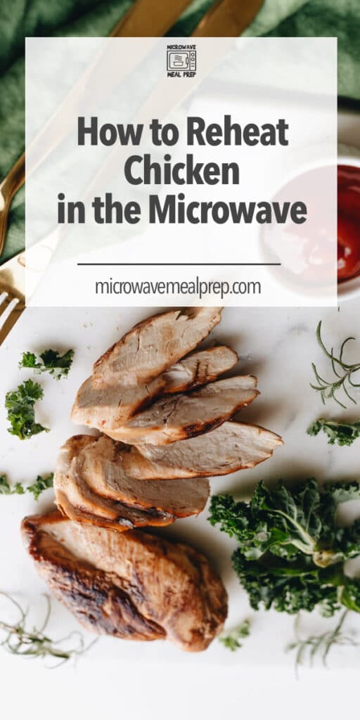 How to reheat chicken in microwave