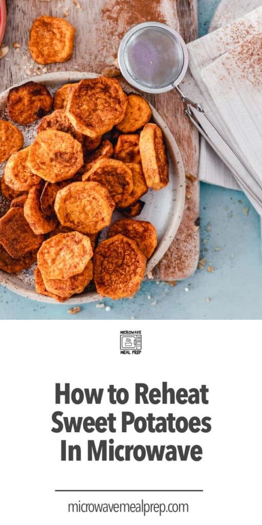 How to reheat sweet potatoes