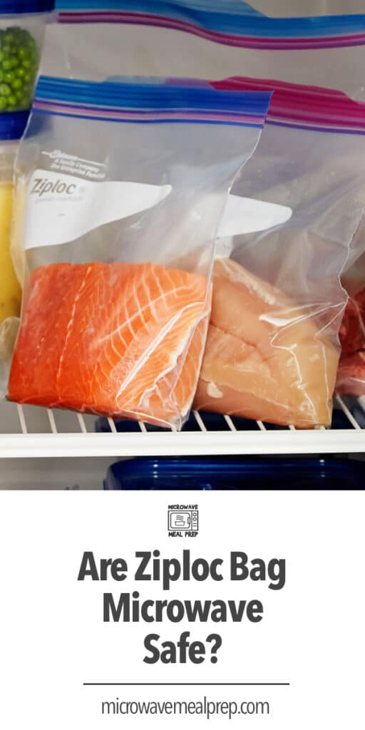 Are ziploc bags microwave safe