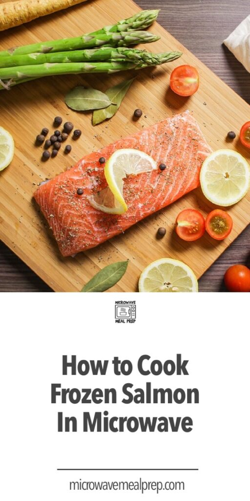How to cook frozen salmon in microwave