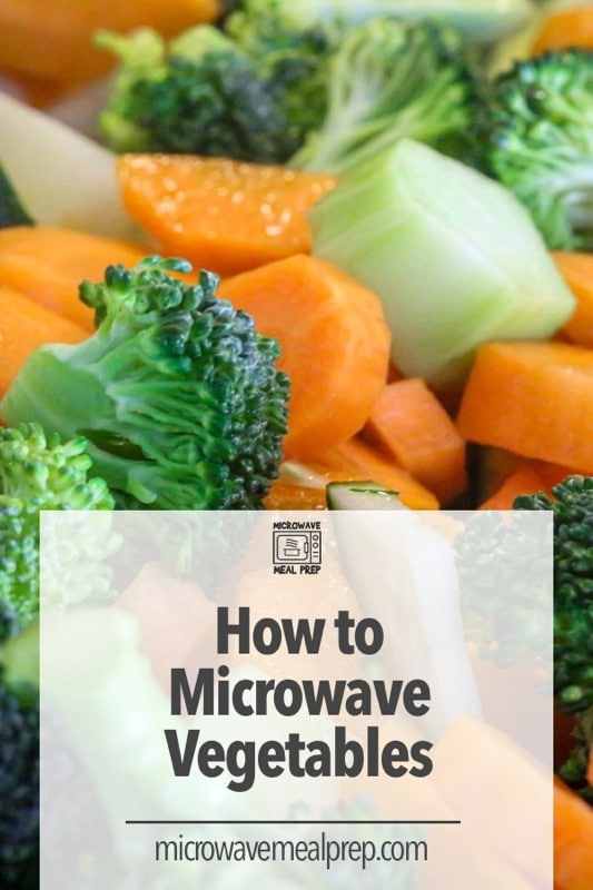 How to microwave vegetables