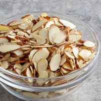 Best way to toast sliced almonds in microwave