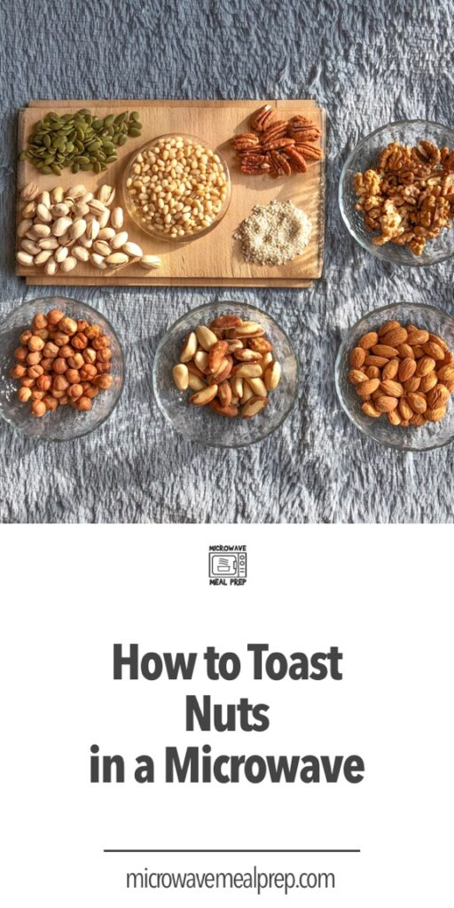How to toast nuts in microwave