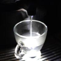 Water superheating in microwave