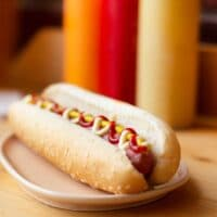 Best way to microwave hot dog