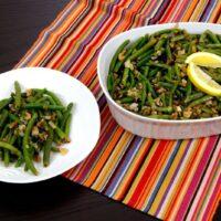 Best way to reheat green bean casserole in microwave
