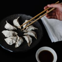 Best way to microwave Trader Joes gyoza potstickers