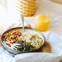 Best way to microwave Trader Joes quinoa