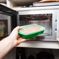 Is it safe to defrost in microwave