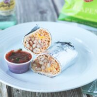 Best way to microwave bean and cheese burrito