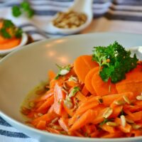 Best way to steam carrots in microwave