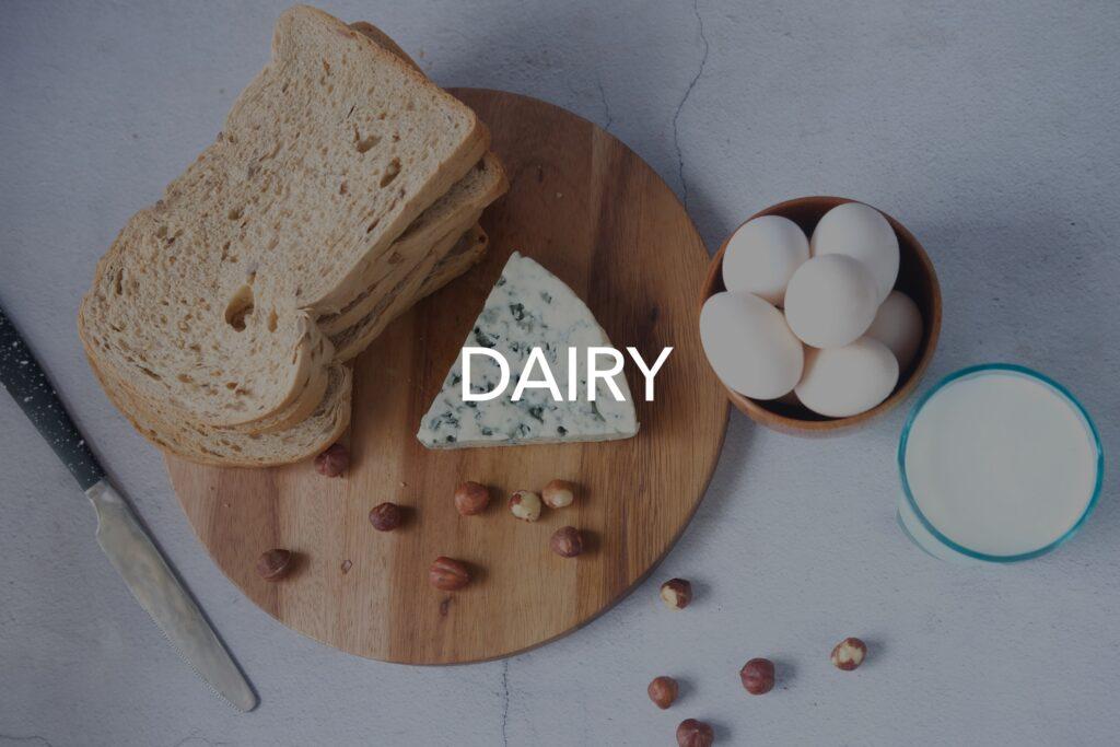 Microwaving dairy