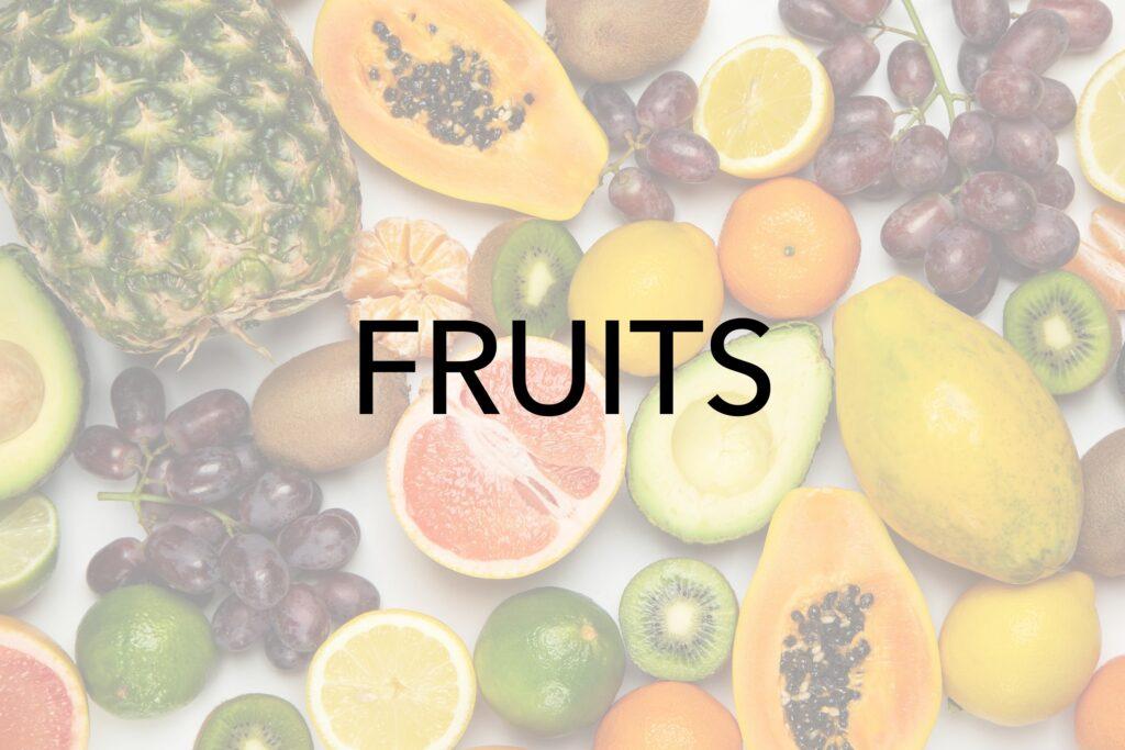 Microwaving Fruits